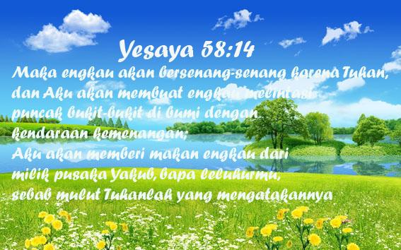 yesaya 58_14